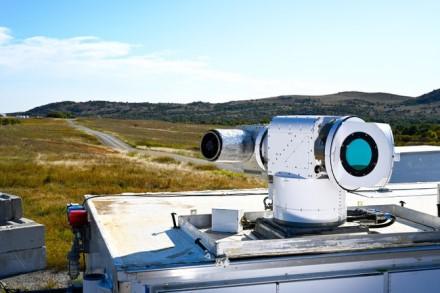 """""""Lockheed Martin"""" naujoji lazerinė """"ATHENA"""" sistema © """"Lockheed Martin"""""""