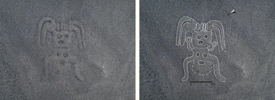 Yamagata universiteto nuotr. / Humanoido formos geoglifas