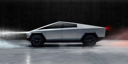 """""""Tesla Cybertruck"""" dizainas pikapą pavertė tik geriau žinomu © Gamintojo nuotrauka"""