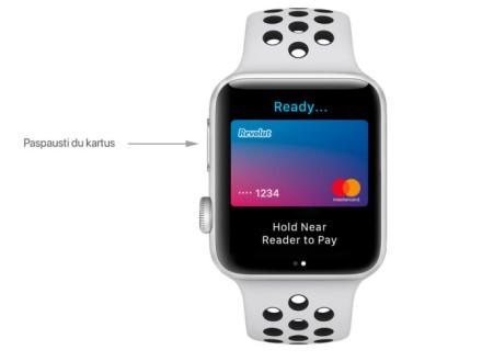 """Kaip naudotis """"Apple Pay"""" kai su šia paslauga susietos kelios kortelės"""