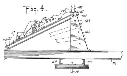 Gimdyvės pozicija taip pat buvo reguliuojama © Patento atvaizdas