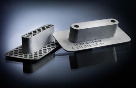 3D spausdintuvais pagamintos detalės © Gamintojo nuotrauka