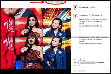 """Instagramas bando paslėpti """"like'us"""", bet yra būdas tai apeiti"""