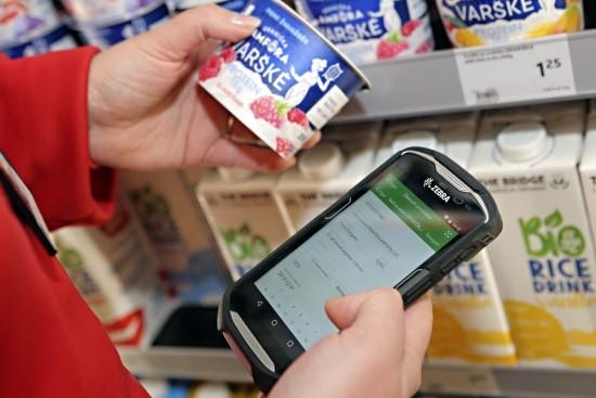 """""""Rimi"""" pirmasis Baltijos šalyse prekių galiojimo monitoringui pasitelkė išmaniąją programėlę"""