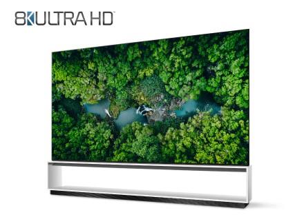 """LG televizoriai pirmieji viršijo """"8K ULTRA HD"""" televizoriams taikomas oficialias pramonės apibrėžtas ribas"""