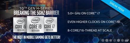 """""""Intel"""" pranešė apie 10 kartos mobilius procesorius"""