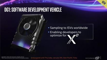 """""""Intel"""" atskleidė kaip atrodo diskreti """"Xe DG1"""" vaizdo plokštė"""