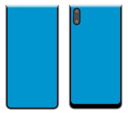 """""""Xiaomi"""" užpatentavo 2 panašius, bet labai netradiciškai atrodančius sulenkiamą ekraną turinčius telefonus"""