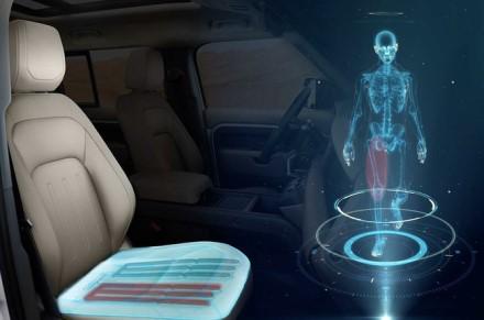 """Nauja """"Jaguar Land Rover"""" imituos vaikščiojimo judesius © Gamintojo nuotrauka"""