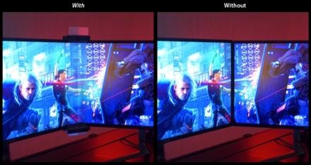 ASUS siūlys monitorių rėmelius maskuojantį ROG priedą