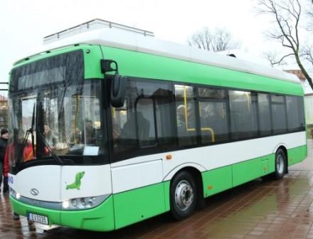 Tauragiškiai važiuos naujausios kartos ekologiškais elektriniais autobusais
