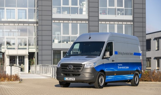 "Naujo segmento pradininkas – ""Mercedes-Benz eSprinter"""