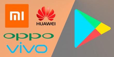 """""""Huawei"""", """"Xiaomi"""", """"Oppo"""" ir """"Vivo"""" susivienijo: kurs """"Google Play"""" aplikacijų parduotuvės konkurentą"""