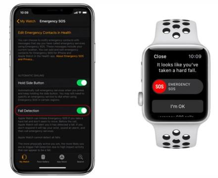 """Kaip įgalinti nukritimo aptikimą """"Apple Watch Series 4"""""""