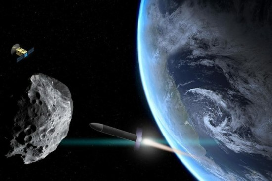 MIT tyrėjai sukūrė algoritmą, kuriuo remiantis, būtų galima nuspręsti, kokia misija sėkmingiausiai nukreiptų atskriejantį asteroidą