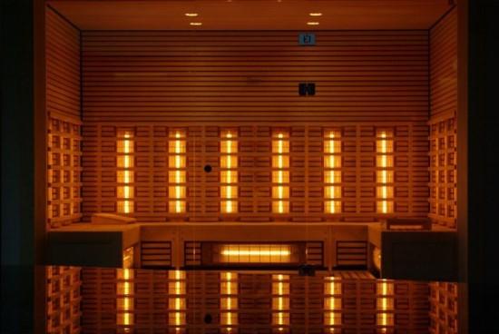 Infraraudonųjų spindulių sauna. Pixabay.com