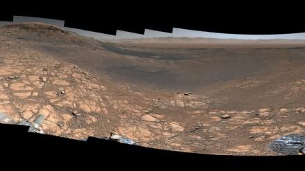 Marso kraštovaizdis © NASA