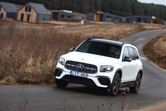 """Mercedes-Benz GLB"". Nuotr. autorius: Egidijus Babelis."