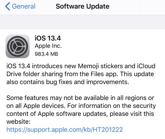 """""""Apple"""" išleido didžiulius """"iOS 13.4"""" ir """"iPadOS 13.4"""" atnaujinimus"""