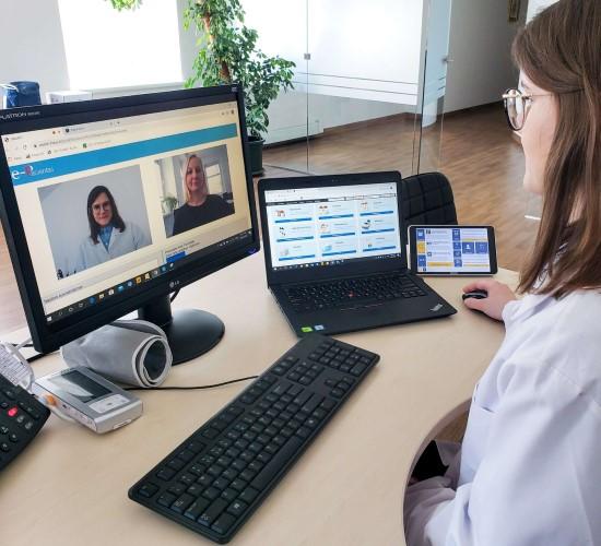 Telekonsultacijos – bendravimo su gydytoju būdas karantino metu