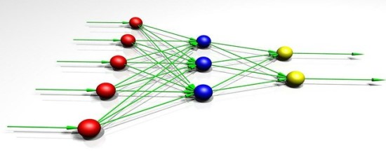 """Neuroniniai tinklai sudaryti iš daugybės procesorių (""""dirbtinių neuronų""""), sujungtų į tinklą"""