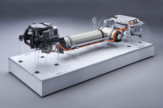"""i Hydrogen NEXT"" – BMW vandenilio kuro elemento sistema © Gamintojo nuotrauka"