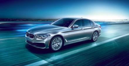 """BMW"" 5-os serijos ""plug-in"" hibridas © Gamintojo nuotr."
