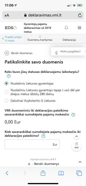 Kokių GPM deklaravimo sistemos pokyčių labiausiai laukė Lietuvos mokesčių mokėtojai