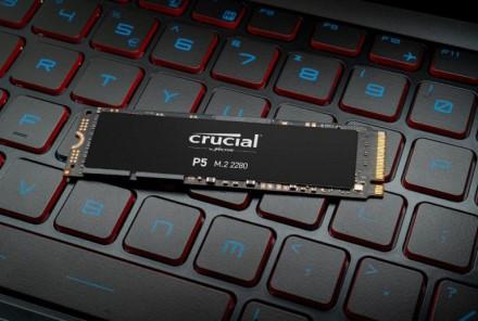 """""""Crucial"""" atskleidžia P5 serijos NVMe SSD"""