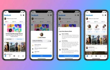 """""""Facebook"""" turi įspūdingą naujieną: vaizdo pokalbiai su daugybe žmonių"""