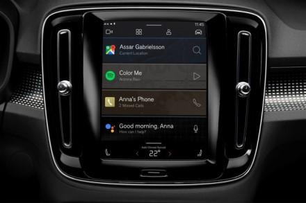"""""""Google Android"""" automobilyje leidžia naudoti įprastas programėles © Gamintojo nuotrauka"""