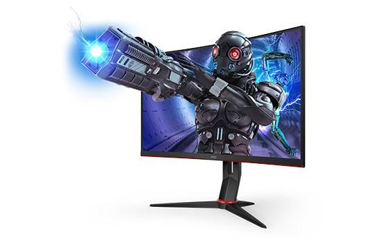 AOC pristato penkis konkurencinių žaidimų monitorius