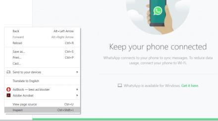 """Kaip aktyvuoti tamsųjį """"WhatsApp"""" režimą kompiuterinėje programėlės versijoje?"""