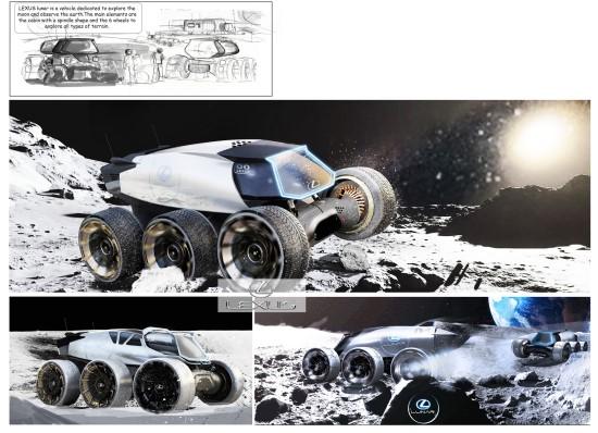 """""""Lexus Lunar"""", autorius – Yung Presciutti"""