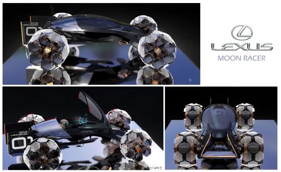 """Lexus Moon Racer"", autorius – Yung Presciutti"