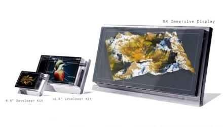 Pristatytas pirmasis pasaulyje 8K holografinis 3D ekranas