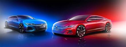 """""""Volkswagen"""" leido žvilgtelėti į naująjį """"Arteon"""""""