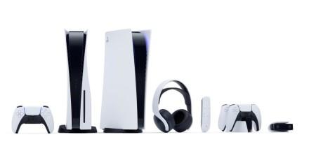 """Gamintojo nuotr. / Visa """"Playstation 5"""" kompiuterių ir aksesuarų gama"""