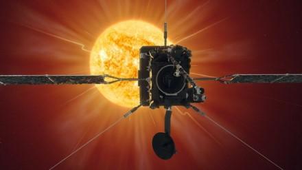 ESA kosminis zondas birželio 15 d. prie Saulės priartėjo įspūdingai arti © ESA
