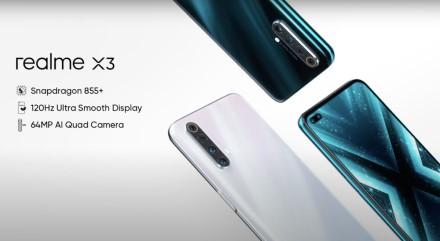 """""""Realme"""" turi dar vieną naujieną: pristatytas """"X3"""" modelis su 6 kameromis"""