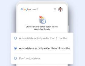 """""""Google"""" sukūrė surinktų duomenų automatinio ištrynimo funkciją"""