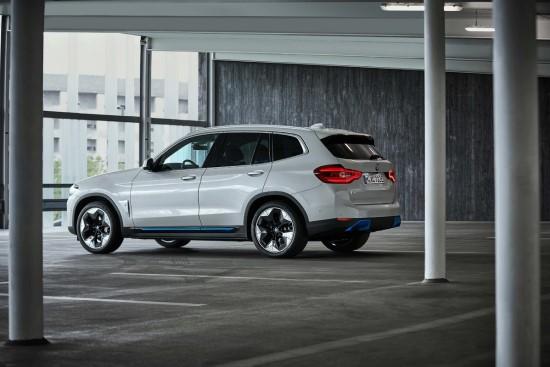 """""""BMW iX3"""". Gamintojo nuotr."""