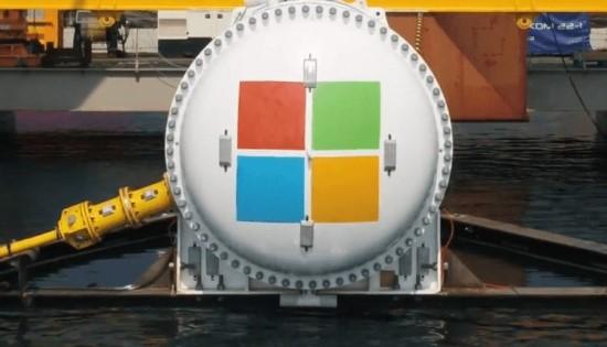 """""""Microsoft"""" parodė trečiosios kartos povandeninį duomenų centrą"""
