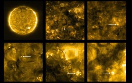 """""""Solar Orbiter"""" zondas užfiksavo dar nematytų kadrų iš Saulės paviršiaus / Youtube.com stop kadras"""