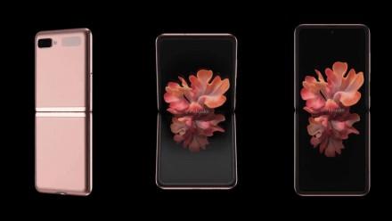 """""""Samsung"""" pademonstravo naują sulenkiamą telefoną"""