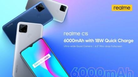 """Pristatytas """"Realme C15"""" telefonas su itin talpia baterija"""