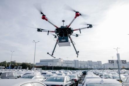 """Tokie dronai greitai paplis po visas """"Volkswagen"""" gamyklas © """" Audi"""" nuotrauka"""