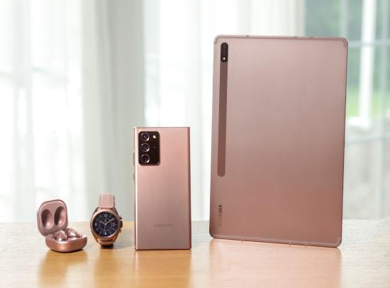 """""""Samsung"""" pristatė galingąją """"Galaxy Note20"""" seriją"""