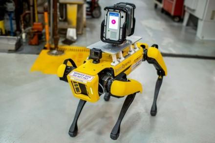 """Ant roboto nugaros matote erdvinį skenerį. © """"Ford"""" nuotrauka"""