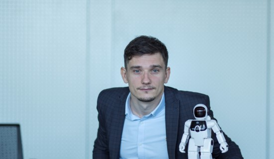 """Gintautas Jonutis: """"Robotai žmonių nepakeis"""""""